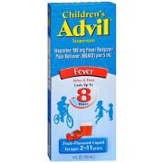 Children's Advil Ibuprofen Oral Suspension Liquid, Fruit Flavor, 4 fl oz