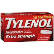Tylenol Extra Strength Pain Reliever & Fever Reducer, Caplets, 100 ea