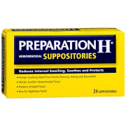 Preparation H Hemorrhoidal Suppositories, 24 ea