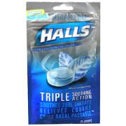 Halls Sugar Free Cough Suppressant Drops, Mountain Menthol, 25 ea