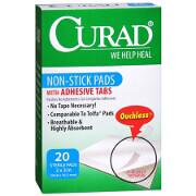 Curad Telfa Non-Stick Pads with Adhesive 2' x 3', #63600, 20 ea