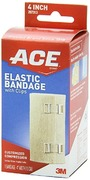 """ACE 4"""" Elastic Bandage with Clips"""