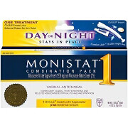 Monistat 1 1-Day Treatment Day or Night Combination Pack, 1 pack