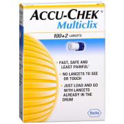 Accu-Chek Multiclix 100+2 Lancets, 102 ea