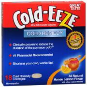 Cold-Eeze Lozenges, All Natural Honey Lemon, 18 ea