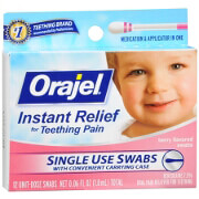 Orajel - Baby Teething Swabs, Berry Flavor, 12 ea