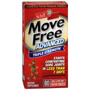 Schiff Move Free Advanced Triple Strength Tablets, Triple Strength, 80 ea