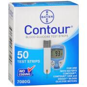 Bayer Contour Test Strips, 50 ea