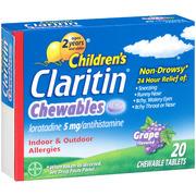Claritin Children's Claritin, 20 ea