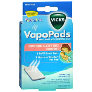 Vicks Pediatric VapoPads Refill, Soothing Sleepy Time Comfort, 6 ea