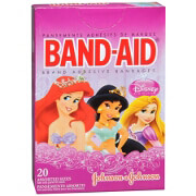 Band-Aid Children's Adhesive Bandages, Disney Princess Assorted, 20 ea