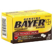 Bayer Genuine Aspirin 325 mg Coated Tablets 24ea.
