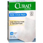 Curad telfa non-stick sterile pads size 2 X 3 inches - 10 ea