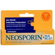 Neosporin Antibiotic Ointment Plus Pain Relief Maximum Strength 0.5 oz