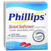 Phillips' Stool Softener Liquid Gels Liquid Gels 30ea.