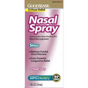 Nasal Sinus 12 Hour Relief Nasal Spray - 1 Oz