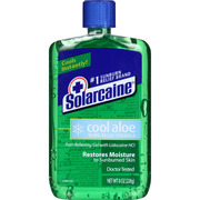 Solarcaine Aloe Extra Burn Relief Gel, 8 oz