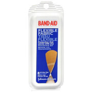 Band-Aid Flexible Fabric Travel Pack, 8 Ea