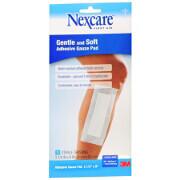 Nexcare First Aid Premium Adhesive Gauze Pad 3-1/2 x 8 Inch 1ea.