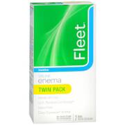 Fleet Enema, Ready-to-Use Saline Laxative, Twin Pack, 1 ea