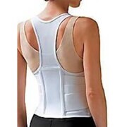 FLA Orthopedic Cincher Women Back Support White Medium. #2000MW