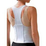 Fla Orthopedic Cincher Back Support for Women, XXL- White