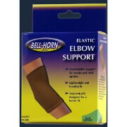 Bell-Horn Compressive Elbow Support, Beige, Medium