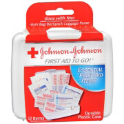 Johnson & Johnson Mini First Aid Kit to Go