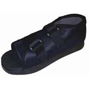 Bell Horn Male Post-Op Shoe, Large Black, 1 ea, #81137