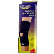 Bell-Horn ProStyle Hinged Knee Brace, Black, Large