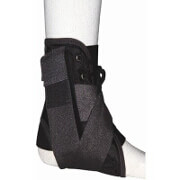 Bell-Horn Stabilized Ankle Brace, Black, Medium