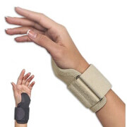 FLA Orthopedics CarpalMate Wrist Support, Black