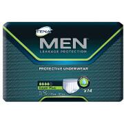 Tena Men Heavy Protection Underwear, Super Plus, Extra Large, 14 ea (case of 4), #81920