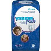 WonderPants Training Pants 4T-5T X-Large, 19 ea (case of 4)