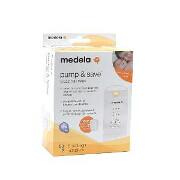 Medela Pump & Save Breast Milk Bags, 50 pack