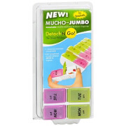 Detach N Go 7 day AM/PM Jumbo Pill Box, 1 ea