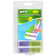 Detach N Go 7 days, AM / PM Pill Box, 1 ea