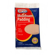 "Preferred Plus Molefoam Padding 4""x3""-2Strips"