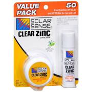 Solar Sense Value Pack SPF 50, 0.5 oz Jar and 0.45 oz Stick