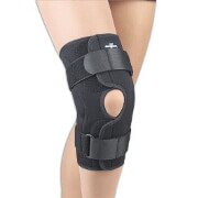 FLA Orthopedics Safe-T-Sport Hinged Knee Brace Neoprene - Medium