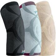 FLA Orthopedics ProLite Compressive Knit Knee Support, Medium, Caramel