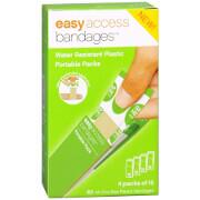 "Easy Access Water Resistant Plastic Portable Bandage Packs, 3/4"" x 3"", 60 ea"