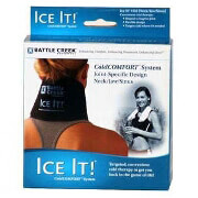 "Ice It! ColdCOMFORT Neck/Jaw/Sinus System, 4.5"" x 10"""