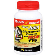 Mason Natural Glucosamine Flexi Joint Complex Plus MSM, 90 Capsules