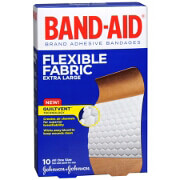 Band-Aid Flexible Fabric Bandages, Extra Large, 10 ea