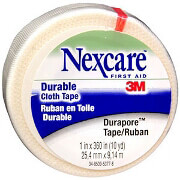 "Durapore Silk-like Cloth First Aid Surgical Tape 1"" x 10 yds."