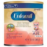 Enfamil A.R. Lipil Milk-Based Infant Formula Powder, 0-12 months, 12.9 oz