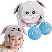 Cool Gel N Cap Kids Ice & Heat Packs/ First Aid Cap - Tulip The Bunny