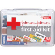 Johnson & Johnson All-Purpose First Aid Kit 125