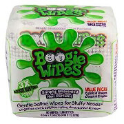 Boogie Wipes Unscented Saline Nose Wipes, 90ct